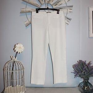 Nanette Lepore Cream Color Pants Size 8